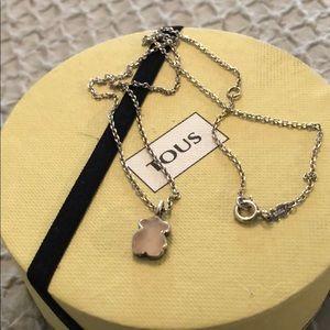 Pink Tous necklace